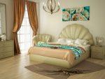 침실의 아름다운 침대의 참신함 : 225+ (사진) 편안하고 건강한 수면을위한 선택