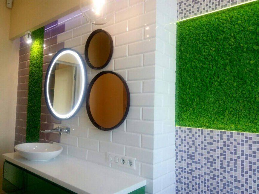 Moss adalah alternatif yang mesra alam kepada jubin