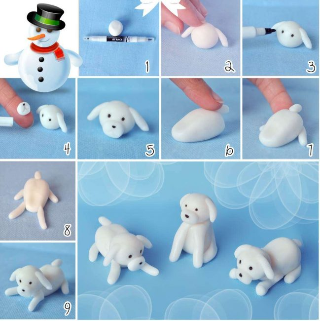 Anjing putih salji