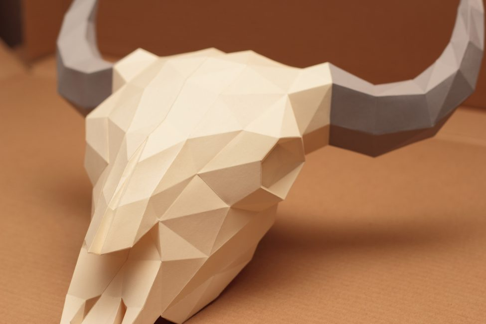 Orijinal kağıt modelleme fikri