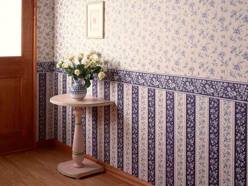 Oturma odası için vinil duvar kağıdı