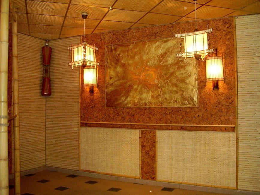 Bambu iç dekorasyon