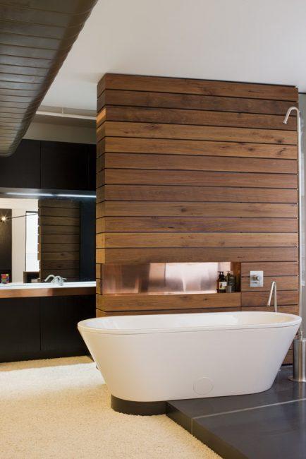Penyelesaian bilik mandi yang indah dan luar biasa