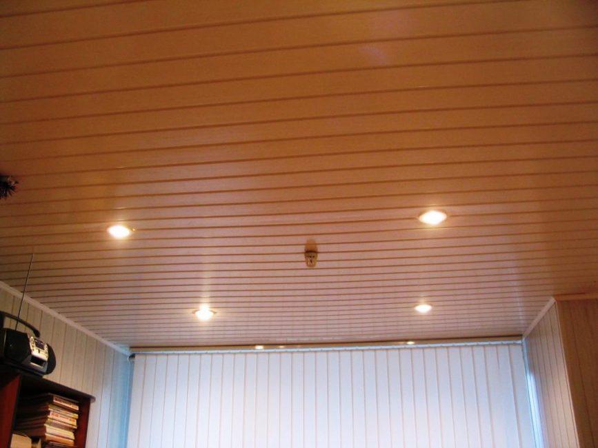 Panel rak di siling