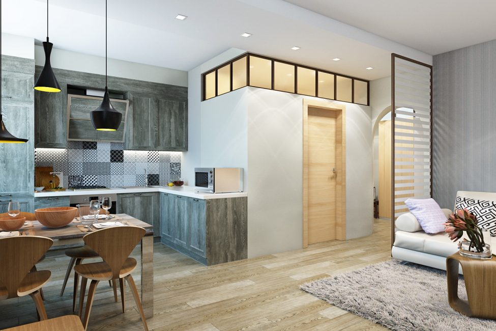 Comfortable apartment without unnecessary details
