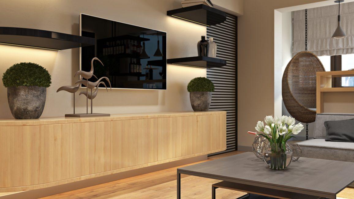 Design tricks when planning an apartment