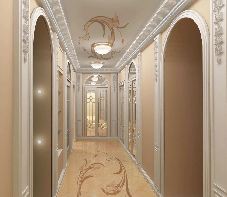 Pilasters - a luxurious personality