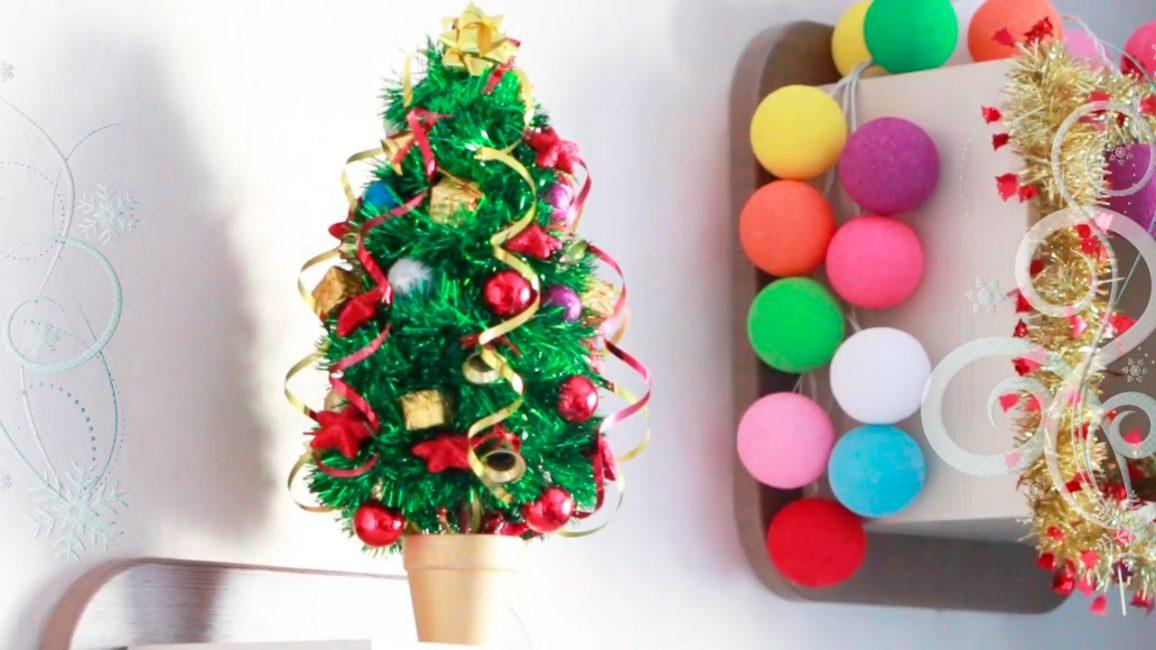 Ev içi için kompakt Noel ağacı