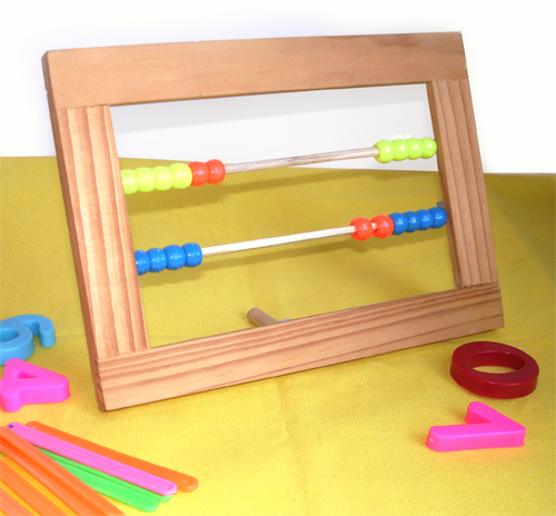 Abacus adalah mainan berguna yang sangat mudah dibuat.