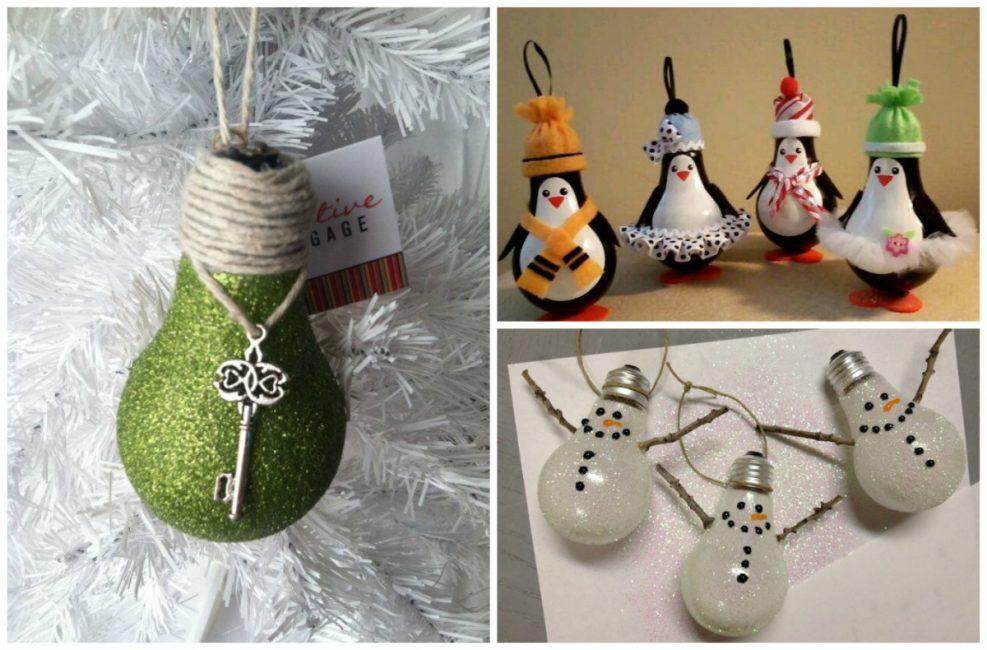 Noel ağacı için DIY dekor
