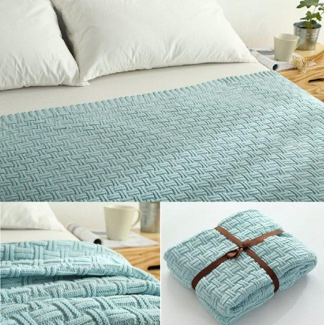 Yatak örtüsü kumaşının boyutu ve bileşimi önemlidir