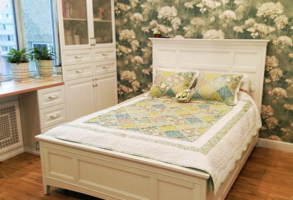 Model kaplı yatak stili