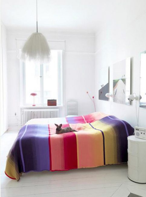 Evinizde konforlu yatak örtüsü