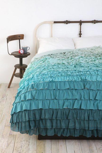 Oda özelliğini vurgulayın - yatak örtüsü
