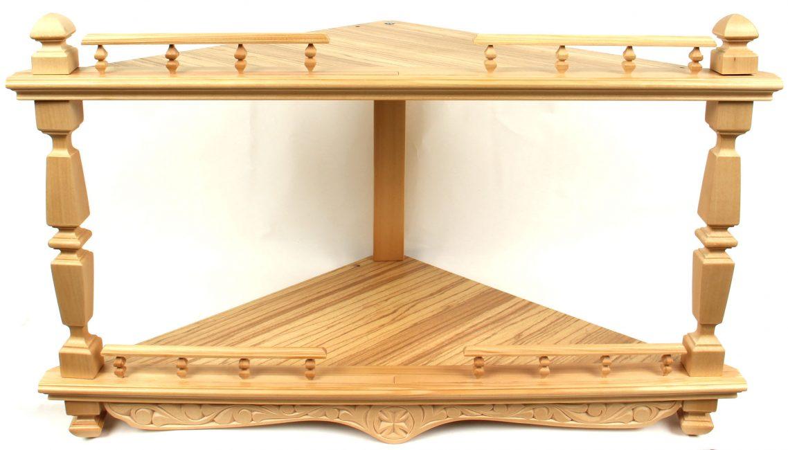 Reka bentuk sudut kayu