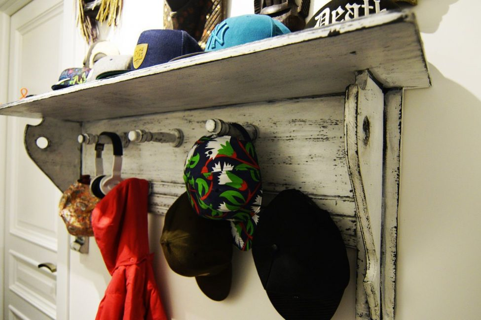 Şapkalar için özel olarak belirlenmiş yer