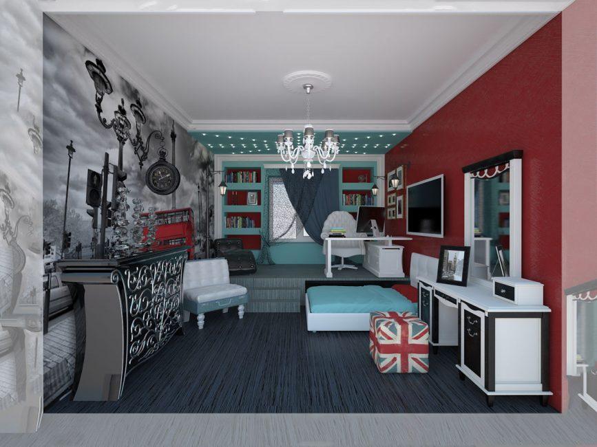 الشيء الرئيسي هو جعل الغرفة مريحة ومريحة.