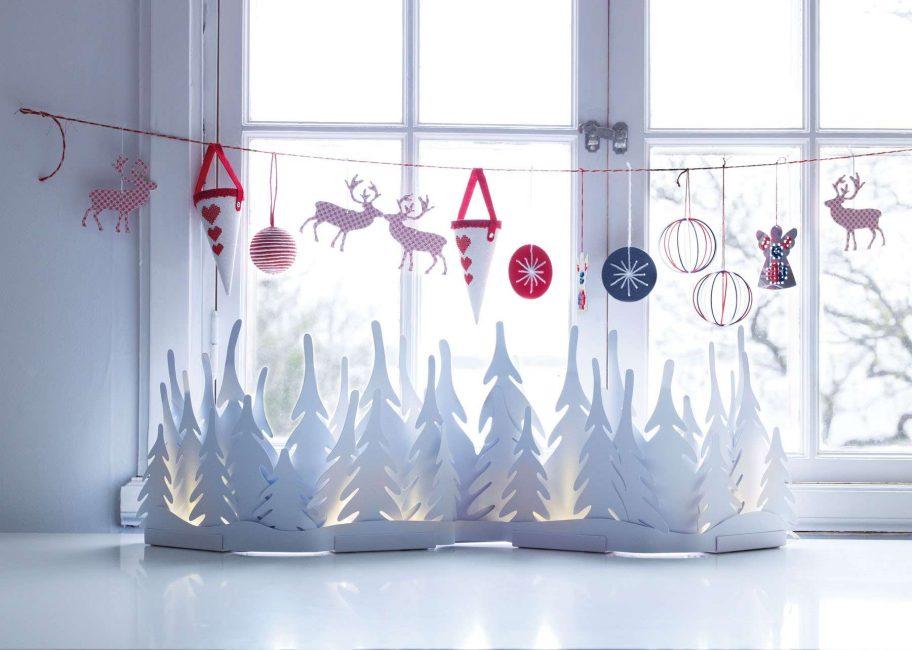 Pencere eşiği dekorasyonu hayal gücünüze bağlıdır