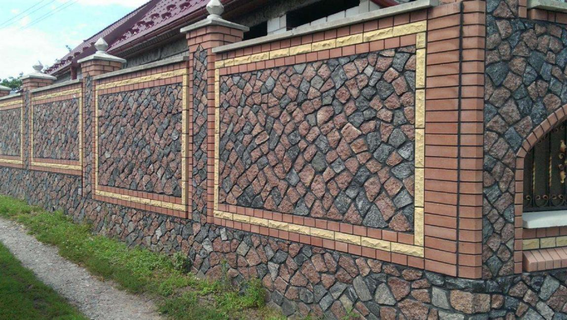 Pagar granit yang tahan lama