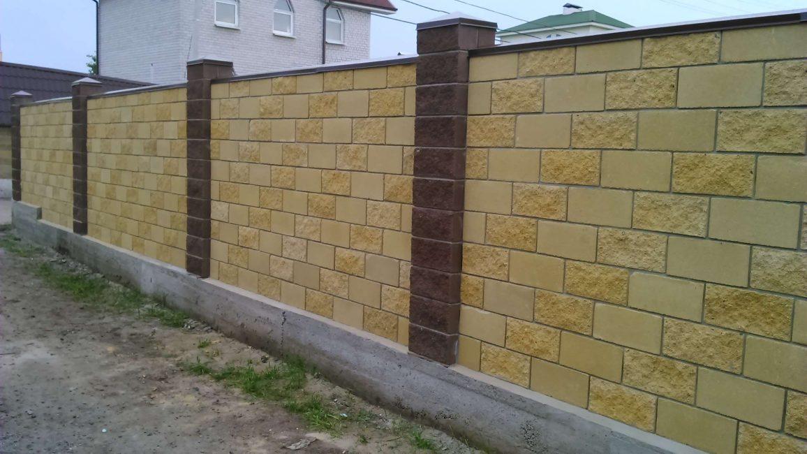 Pembinaan blok konkrit - boleh dipercayai dan kukuh