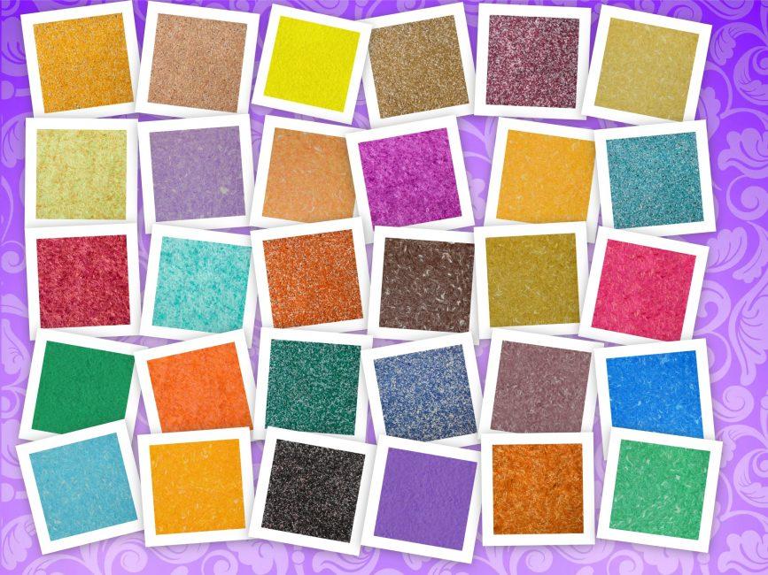 Geniş renk çeşitliliği