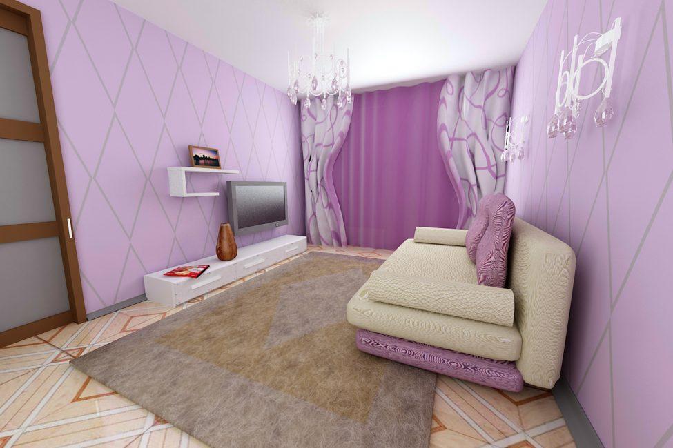 Modaya uygun ve sıcak oda atmosferi