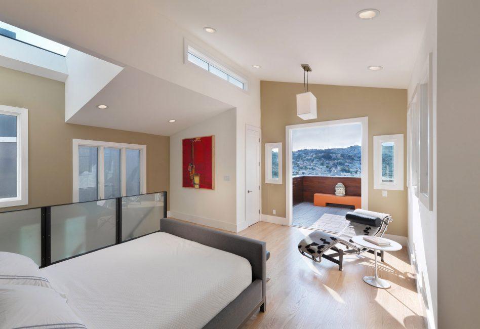 Bej güvenli bir sığınak olmamalı - modern bir evde aksan haline gelebilir.
