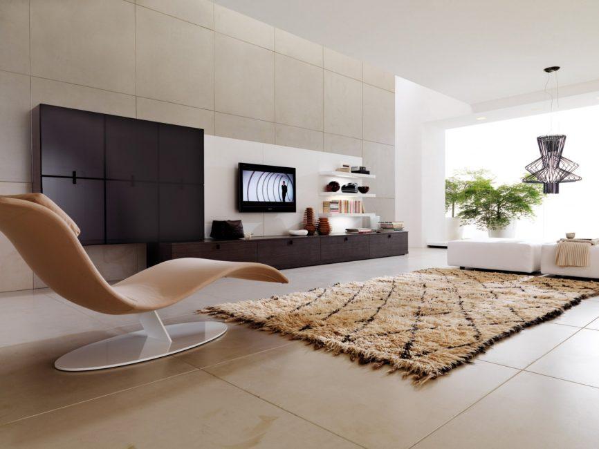 Bir odanın daha geniş görünmesini sağlar.