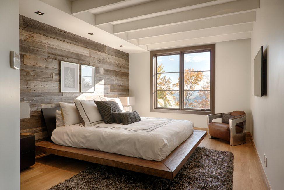 Bej yatak odası iç tasarım