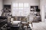 Jadual gaya loteng (115+ Foto): Apakah jenis reka bentuk yang lebih baik? (bertulis / jurnal / bar / makan / pengubah)