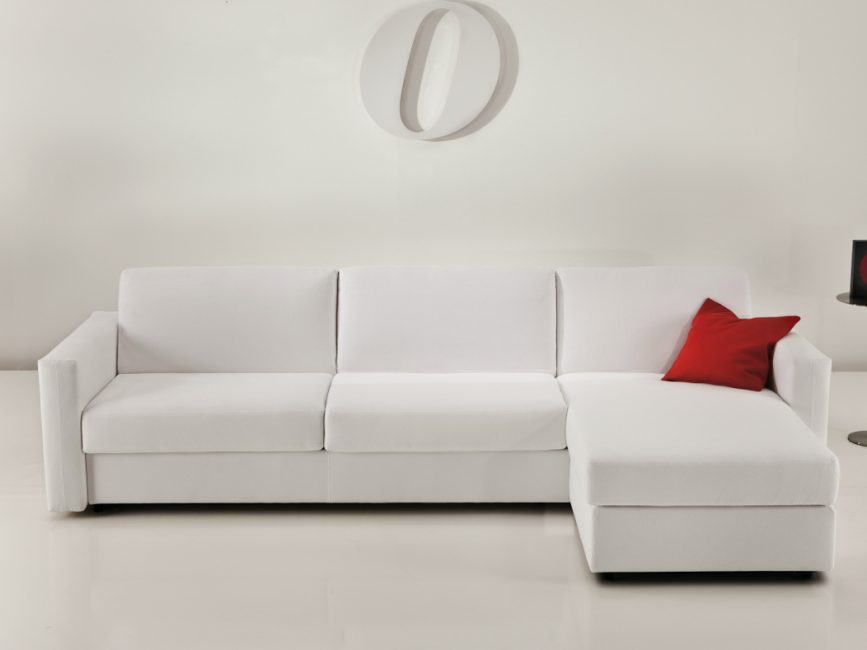 Sofa bed an economical way to put a bed in the studio