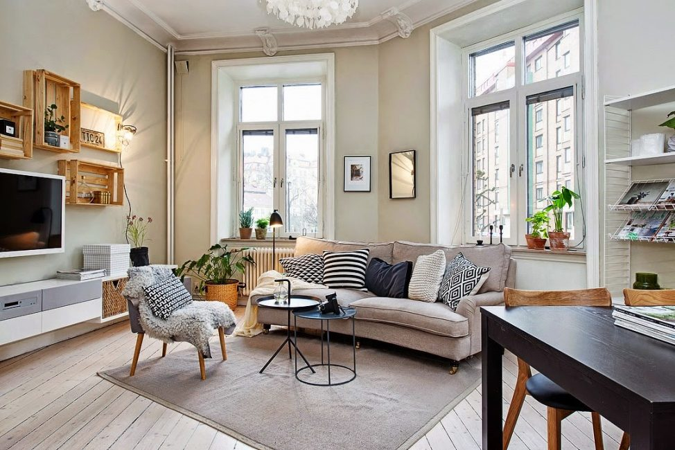 These apartments are gaining more and more popularity.