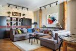 Salon tasarımındaki temel Modern stiller: 180+ İç mekandaki renk kombinasyonlarının fotoğrafları