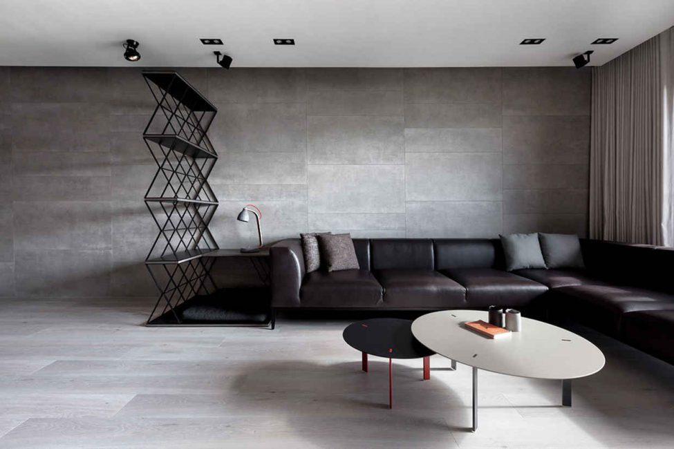 Gabungan elegan elegan, keanggunan dan kesederhanaan penyelesaian reka bentuk.