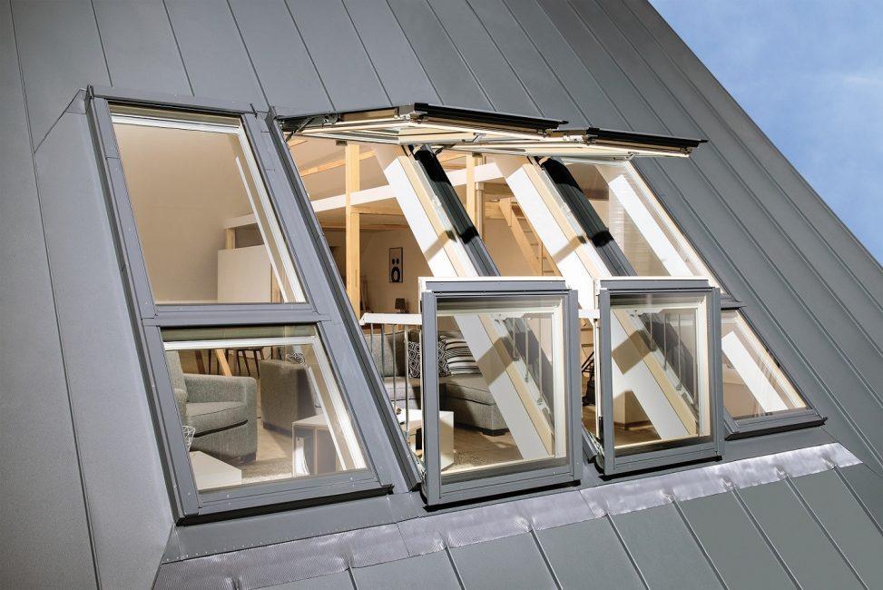 Balkon pencereleri - standart dışı çözüm