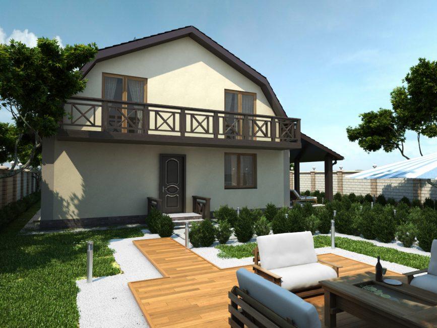 Rahat ev
