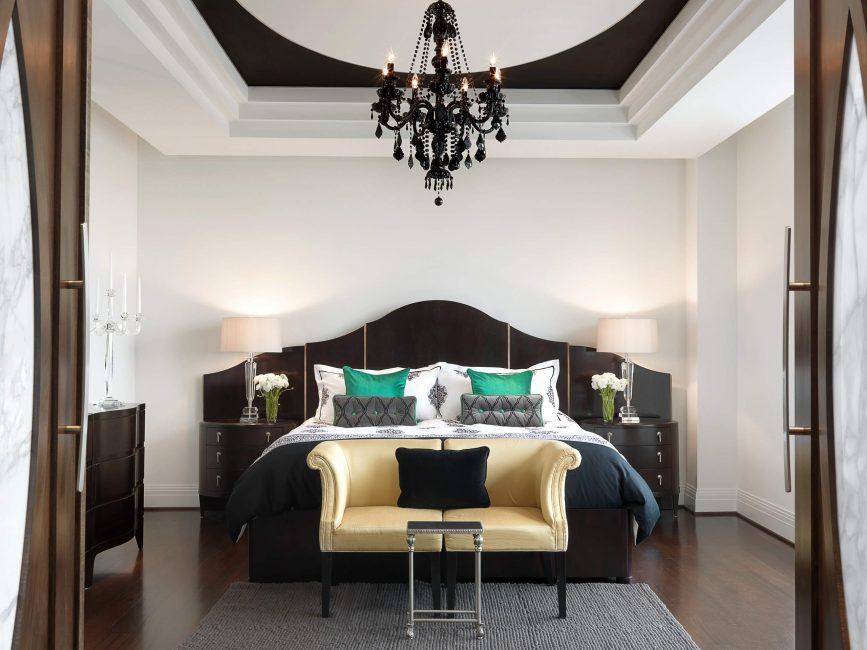 Yatak odasında etkileyici unsur