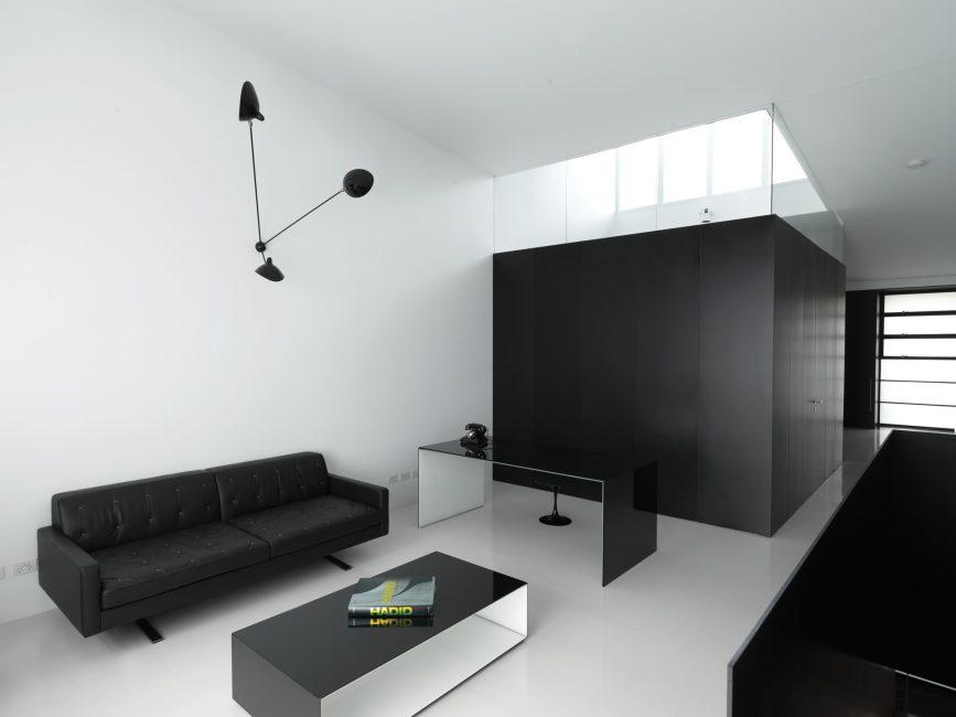 Dekor minimalist oturma odası