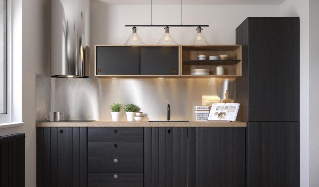 Dolapların ve ev aletlerinin mutfağın nasıl göründüğü üzerinde büyük etkisi vardır.