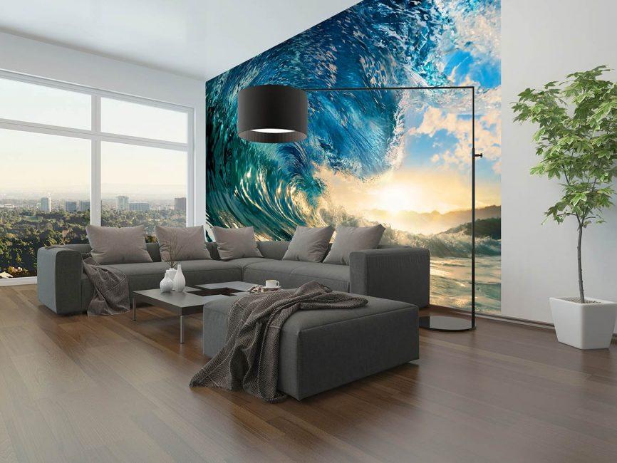 Proiectat pentru suprafețe perfect netede ale pereților