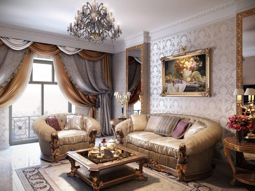 Gunakan perabot yang selesa, lapang dan pelbagai fungsi.