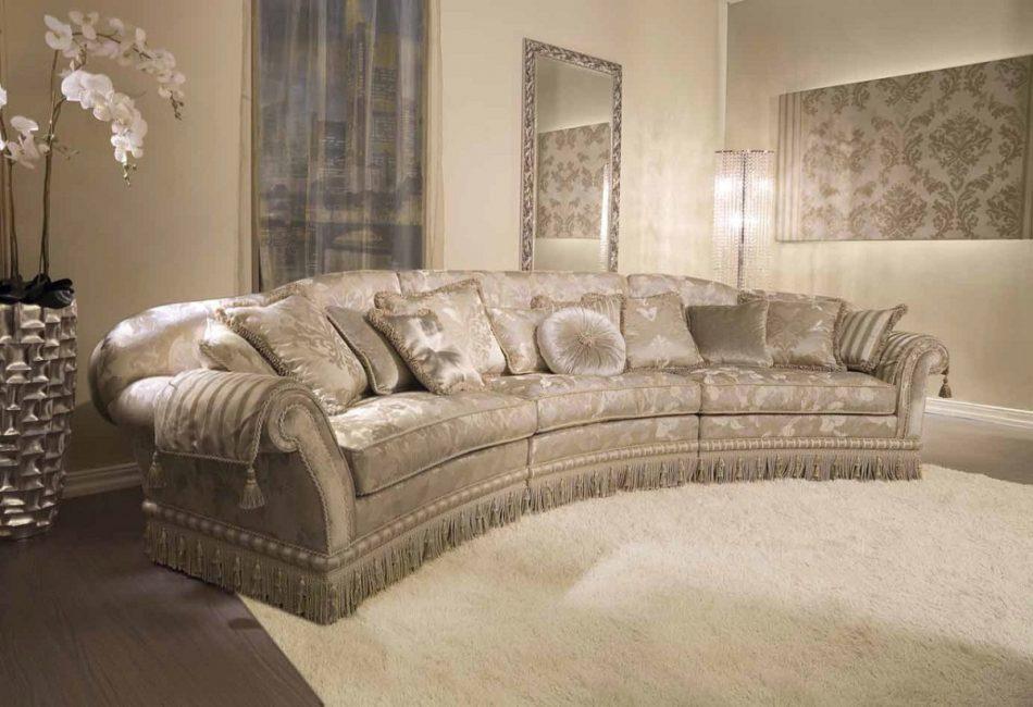 Sofa adalah terperinci utama pedalaman