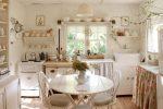 Design di belle cucine in stile provenzale: oltre 240 foto di design moderno (pareti, soffitto, tende)