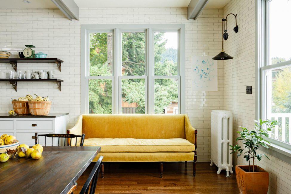 Penciptaan jaminan keselesaan rumah di dapur