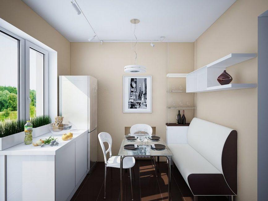 Pilihan ergonomik praktikal untuk sofa akan memberi manfaat kepada reka bentuk dalaman.