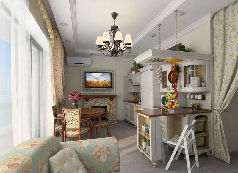 Upholsteri adalah wajar untuk memilih dengan cetakan bunga di warna semulajadi.