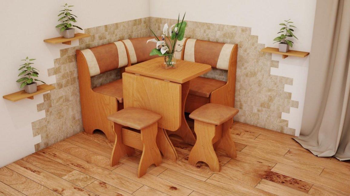 Sofa untuk dapur kecil