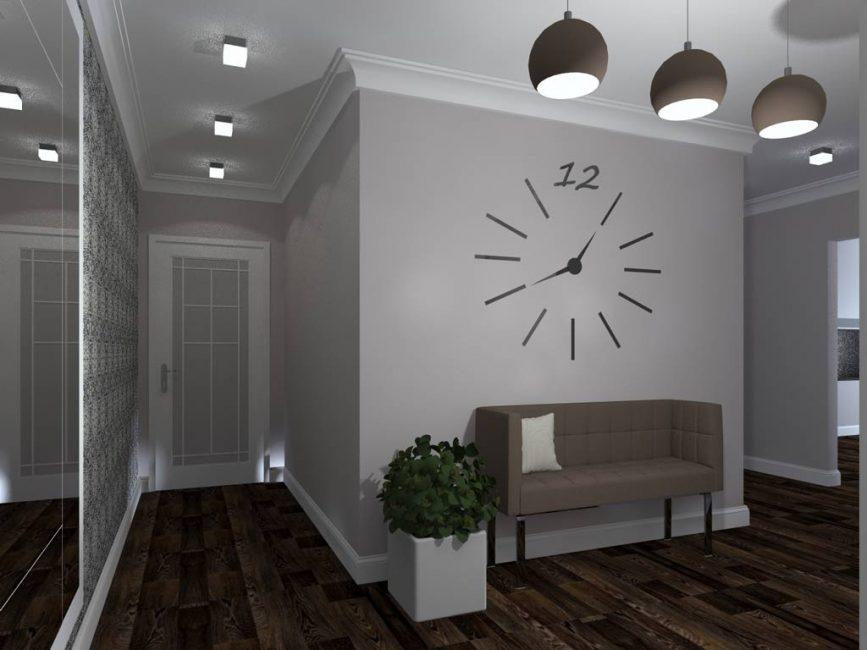 Dinding almari menetapkan gaya bilik