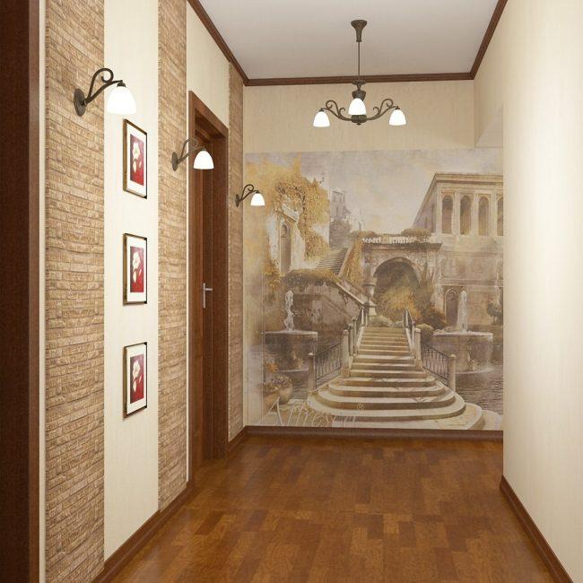 Mural dinding sebagai ruang sorotan