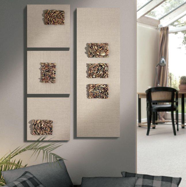 벽면 패널은 개별 인테리어를 만드는 기회입니다.